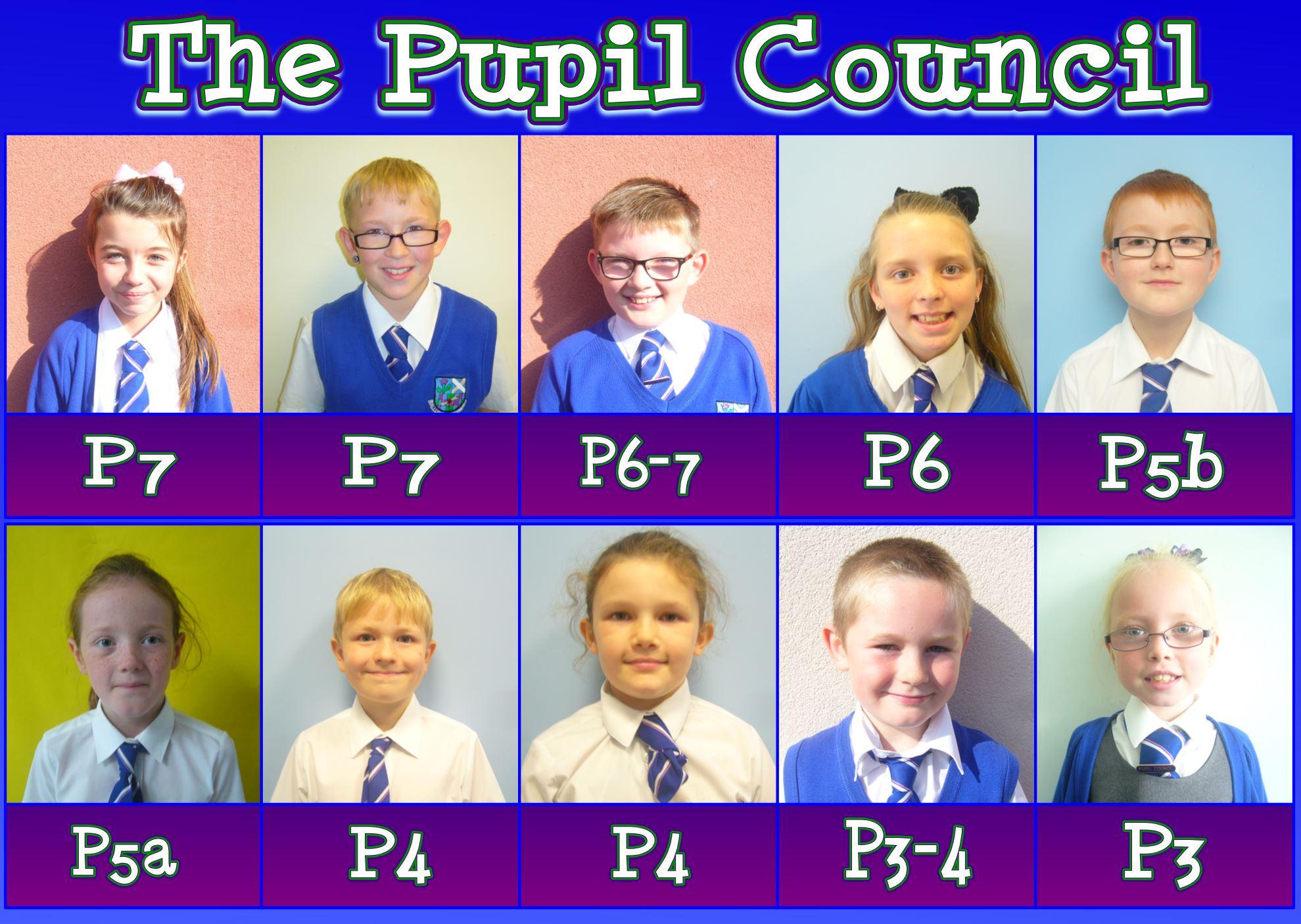 Pupil Council 2014-2015